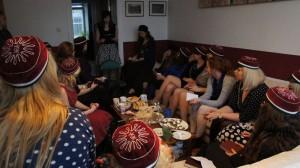 Eesti Vabariigi aastapäeva tähistamine kiluvõileibade ja kõnega (2015) Triin Teppo või Maris Vee