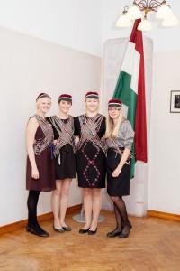 Värskelt värviline coetus 2012 II (sügiskommerss 2013) Evelin Virnas