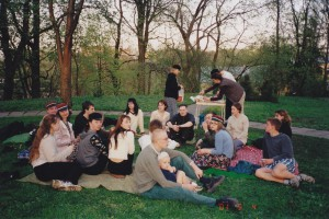korp! Reveliaga botaanikaaias (04.05.2001)